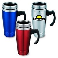 Push-On Lid Travel Mug