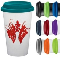 Double Wall Ceramic 11 oz. Tumbler