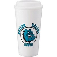 Double Wall Plastic 16 oz. Tumbler