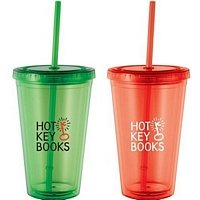16-oz. Tumbler with Straw