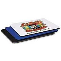1/4 Rectangular Rubber Mouse Pad