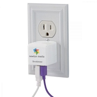 Brookstone 3.4A Travel USB Charger