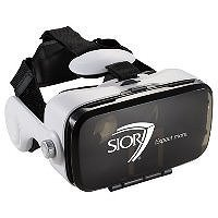 Virtual Reality Headset with Headphones