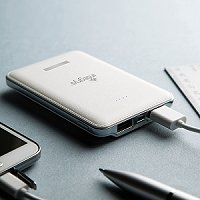 Elegant Dual Port 5000 mAh Power Bank