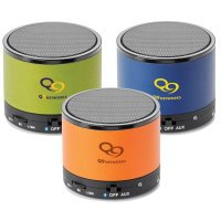 Color Wrapped Bluetooth Speaker