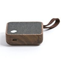 Wood and Cloth Bluetooth Speaker