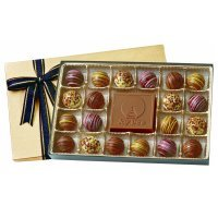 20 Truffles Gift Box with Logo Molded Bar