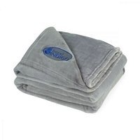 Brookstone Custom Plush Throw - Embroidered