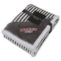 Chevron Stripes Sherpa Blankets