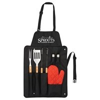 BBQ Apron and 3 piece BBQ Sets
