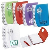 Small Spiral Notebook & Pen Set 4 X 5