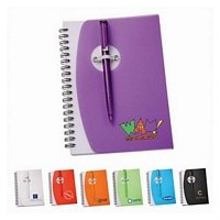 Clever Closure Spiral Notebook Set 5 x 7