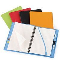 Colorful Refillable Notebook 7x10
