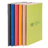 6 x 9 Saddle-Stitched Recycled Eco Notebook - Meeting Item