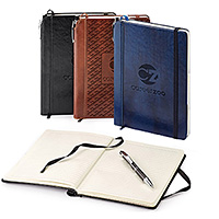 Custom Journals with Stitched Trim & Pen