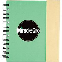 Lock Spiral Notebook 6.5 X 7