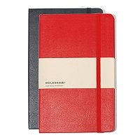 Moleskine 5 x 8.25 Journal with Custom Deboss Corporate Logo