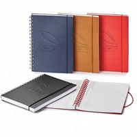 Natalie Spiral Bound Leather Journal