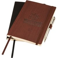Faux Wood Grain Soft Bound Journal