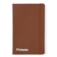 Moleskine Leather Ruled Large Notebooks