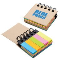 Sticky Notes Flags Notebook