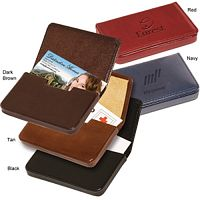Leather Corporate Gift Business Card Cases