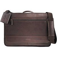 Corporate Gift Kenneth Cole Leather Compu Messenger Bag Gift