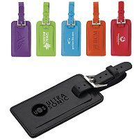 Color Leather Luggage Tags