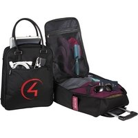 2-in-1 Wheeled Travel Tote