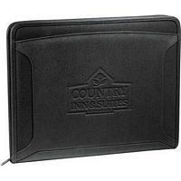 Case Logic Conversion Zippered Tech Promotional Padfolio