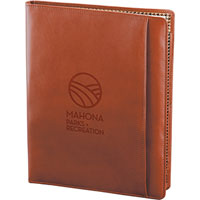Custom Top Grain Leather Padfolios