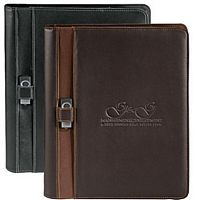 Brown Promotional Padfolios