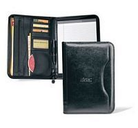 Leather Padfolio - Zippered