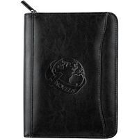 Jr. Leather Zippered Padfolio