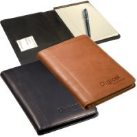 Sueded Full-Grain Leather Portfolio  Junior
