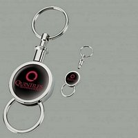 Round Separating key chain
