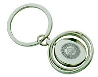 Spinning Rings Keychain