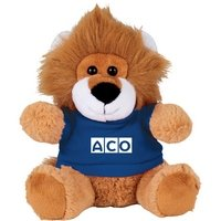6 Plush Lion with Shirt