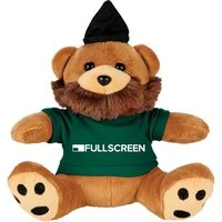 6 Plush Hipster Bear with Shirt