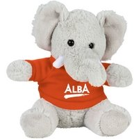 6 Plush Elephant with Shirt