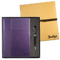 Executive Duo-Textured Journal with Stylus Pen