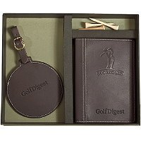 Golf Scorecard/Round Golf Tag Set