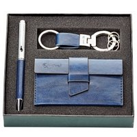 Pen, Key Ring & Card Holder Gift Set