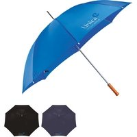 Wood Handle 60 Golf Umbrella - 24 Hour Rush No Extra Charge