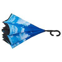 Auto Open Designer Inversion Umbrellas